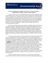 August 22, 2008 EPA Issues Final Report On MDEQ's Clean Water ...