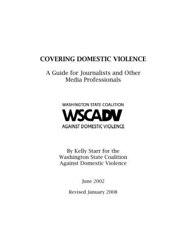 Covering Domestic Violence - Washington State Coalition Against ...