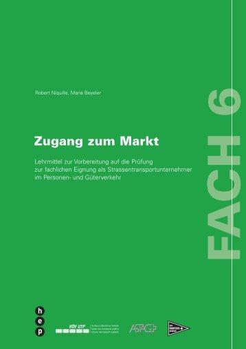 Lehrmittel Fach 6 - routiers.ch