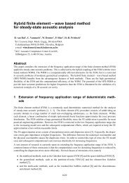 Hybrid finite element -- wave based method for steady-state acoustic ...