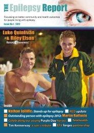Luke Quinlivan & Riley Elson - Epilepsy Australia