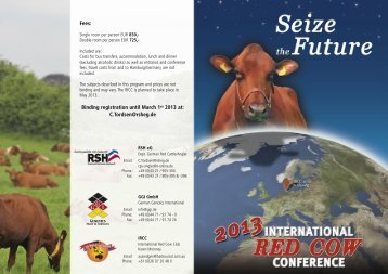 Seize the Future - 2013 IRCC Germany