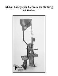 XL 650 Ladepresse Gebrauchsanleitung - sg06.de