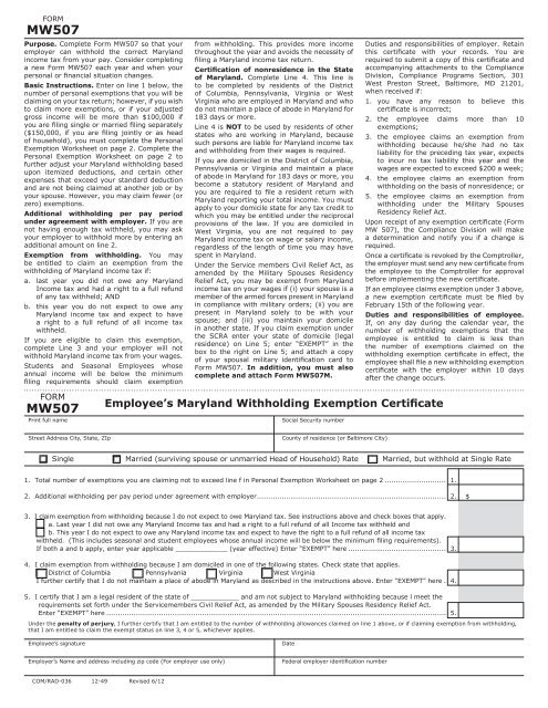 MD Withholding Form pdf format - IATSE Local 22