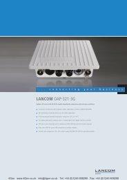 LANCOM OAP-321-3G Outdoor Router Datasheet (PDF) - 4Gon