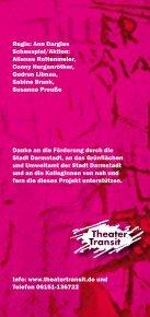 Theater Transit produziert wieder in der ehemaligen ... - Seite 2