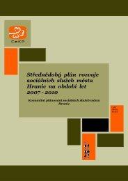 Střednědobý plán rozvoje sociálních služeb města ... - Město Hranice