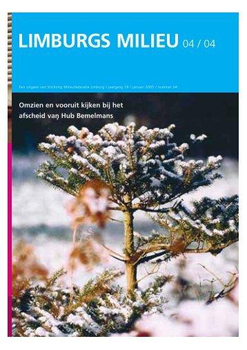 Limburgs Milieu nr. 4 2004 - Milieufederatie Limburg
