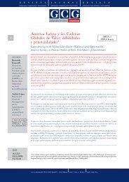 América Latina y las Cadenas Globales de Valor - GCG: Revista de ...