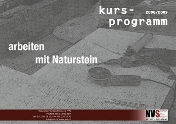 kurs - Naturstein-Verband Schweiz (NVS)