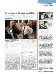 Webcom re-engineers publishing - case study - Ipex