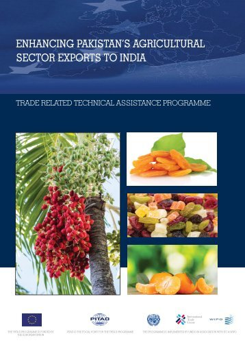 Enhancing Pakistan's Agricultural exports to India - International ...