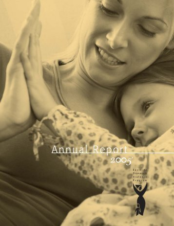 Annual Report 2005 - Eastside Domestic Violence Program