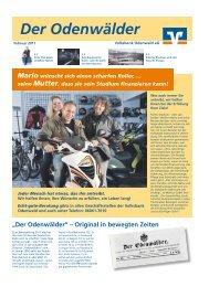 Ausgabe 4 vom Februar 2011 - Volksbank Odenwald eG