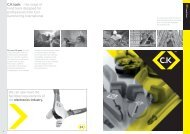 C.K tools – the range of hand tools designed for ... - InfoMine