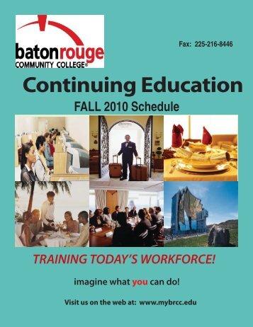 education - Baton Rouge Community College