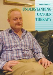 Understanding oxygen therapy - Chest Heart & Stroke Scotland