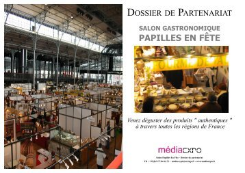 dossier de partenariat 2009.qxp - Ordre Culinaire International