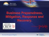 Business Preparedness, Mitigation, Response & Recovery - CREW
