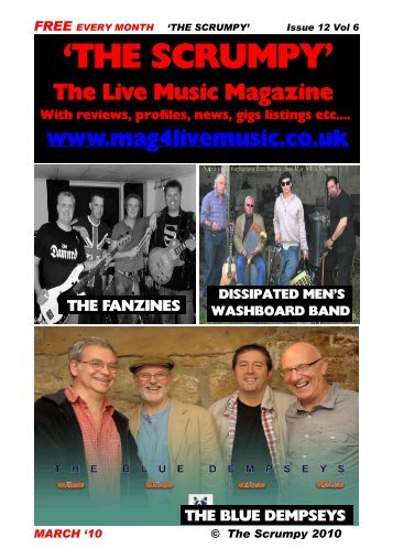 Issue 12 Vol 6 - Mag 4 Live Music