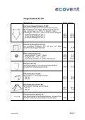 Preisliste 2005 - ecovent - Page 3