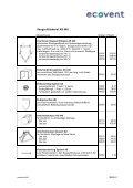 Preisliste 2005 - ecovent - Page 4