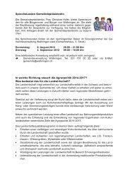 Infos Juli 2012 - Walkringen