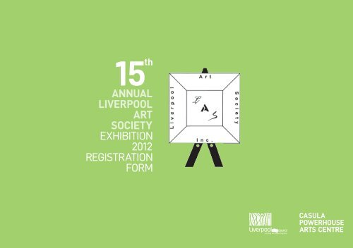 annual liverpool art society - Casula Powerhouse