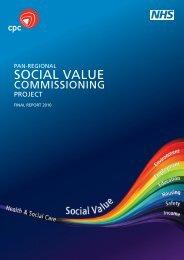 SOCIAL VALUE - NHS North West