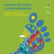 Impronta Ecologica e analisi eMergetica - Assessorato alle Politiche ...