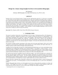 Design for e-beam - The eBeam Initiative