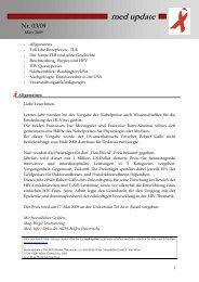 med update 03-09 - Die Aidshilfen Österreichs