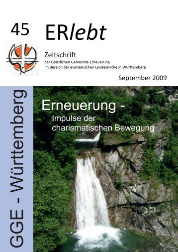 Download - Nr. 45 - Geistliche Gemeinde-Erneuerung Württemberg