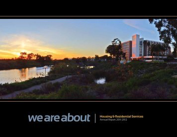 2011-2012 H&RS Annual Report (pdf) - Housing & Residential ...