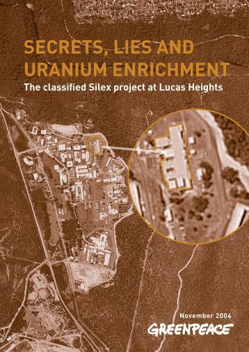 a history of uranium enrichment - Greenpeace