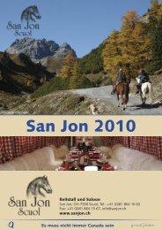 Flyer 2010 - San Jon