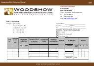Woodshow 2010 Exhibitor's Manual - Dubai Woodshow