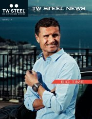 TW STEEL NEWS - Luxury Brand International