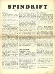 spindrift jan 1951 - Cordova Bay Association for Community Affairs