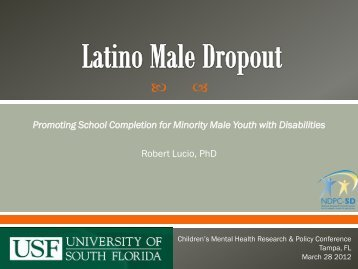 Latino Male Dropout - National Dropout Prevention Center for ...