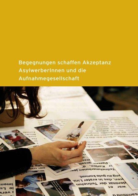 Begegnungen schaffen Akzeptanz ... - Integrationshaus