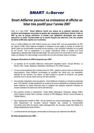 080304 CP bilan 2007 Smart Adserver final fr