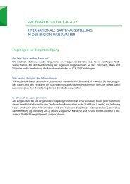 Fragebogen zur bürgerbeteiligung - Weißwasser