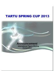 tartu spring cup 2013 - Sweetice.lt