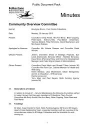 Minutes - Shepway District Council
