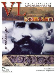 Visual Language Magazine Contemporary Fine Art  Vol 2 No 6 June 2013