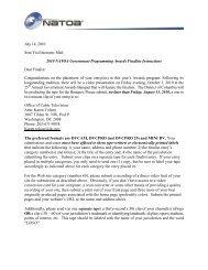 July 14, 2010 Sent Via Electronic Mail 2010 NATOA Government ...