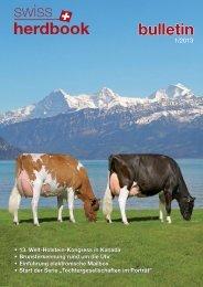 bulletin - SwissHerdbook