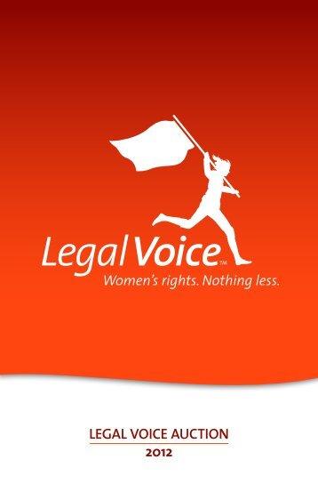 LEGAL VOICE AUCTION 2012