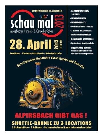ALPIRSBACH GIBT GAS ! - HGV Alpirsbach